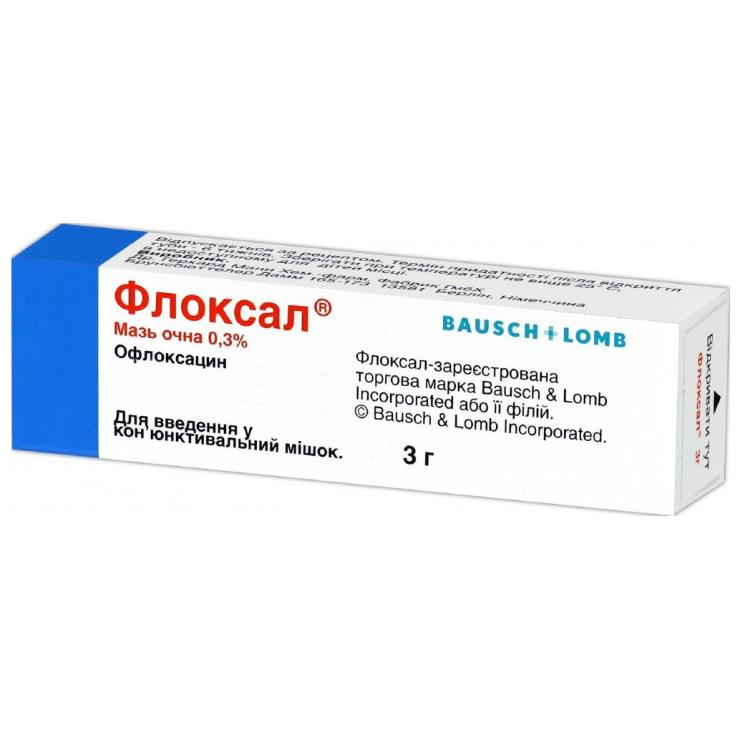 Мазь Флоксал: состав препарата, действующее вещество ...